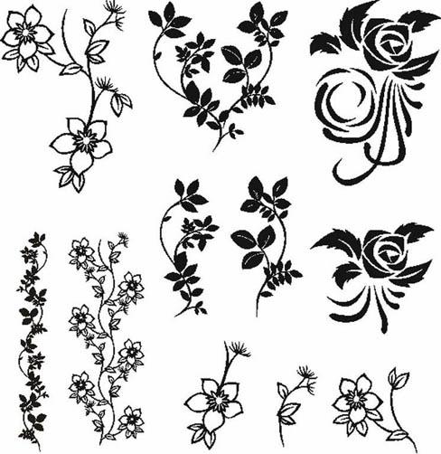 Прикольные черно-белые картинки для личного дневника - скачать 1