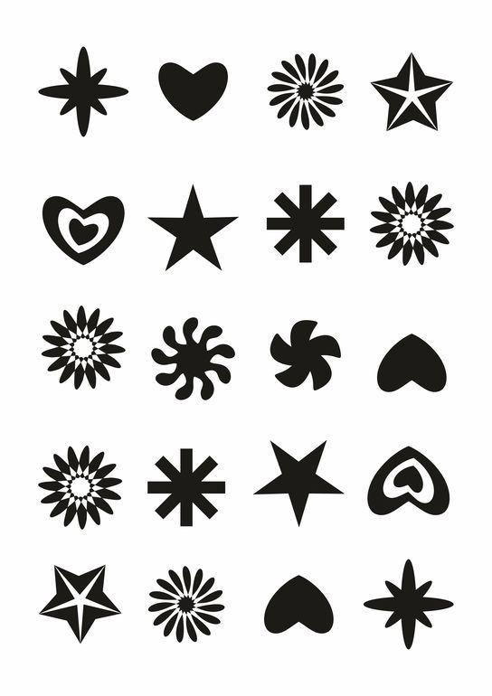 Прикольные черно-белые картинки для личного дневника - скачать 13