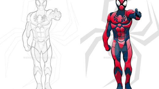Раскраски для мальчиков Супергерои - скачать картинки, рисунки 1