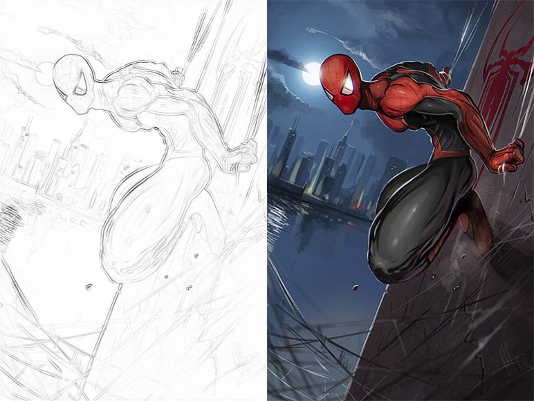 Раскраски для мальчиков Супергерои - скачать картинки, рисунки 3