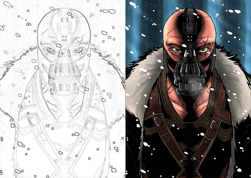 Раскраски для мальчиков Супергерои - скачать картинки, рисунки 4