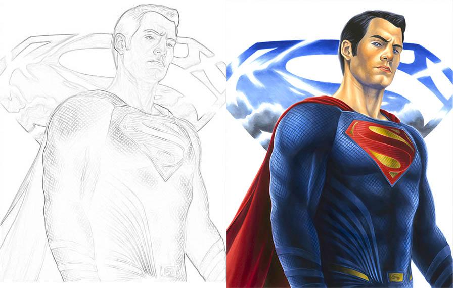 Раскраски для мальчиков Супергерои - скачать картинки, рисунки 5