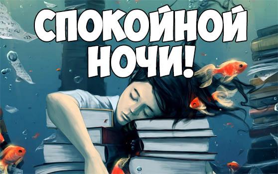 Смешные картинки спокойной ночи - прикольные, интересные 11