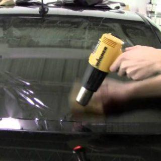 Тонировка автомобиля своими руками - как правильно затонировать стекла 2