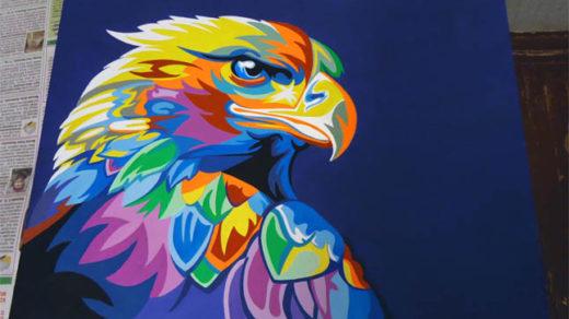 Акриловые краски - плюсы и минусы, особенности рисования, советы 1