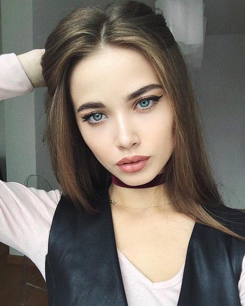 Девушки с красивыми ресницами - милые, привлекательные, прекрасные 1