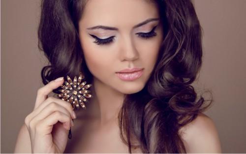 Девушки с красивыми ресницами - милые, привлекательные, прекрасные 7
