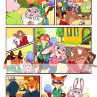 Зверополис комиксы на русском - прикольные, красивые, интересные 4
