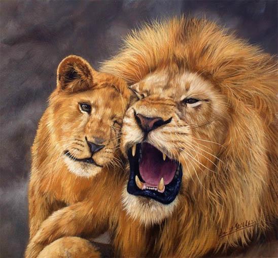 Красивые картинки львов и львиц - удивительные, прикольные и крутые 7