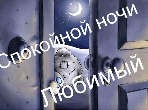 Пожелание спокойной ночи парню - красивые, прикольные, приятные 7