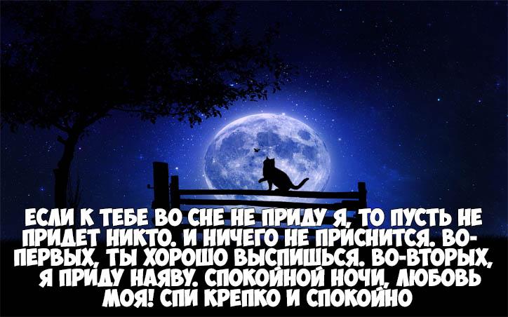Пожелания спокойной ночи своими словами - красивые и прикольные 5