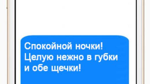СМС пожелания спокойной ночи девушке - красивые, прикольные, приятные 15