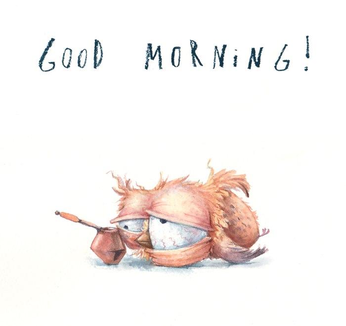 С добрым утром открытки и картинки - красивые, прикольные, классные 5