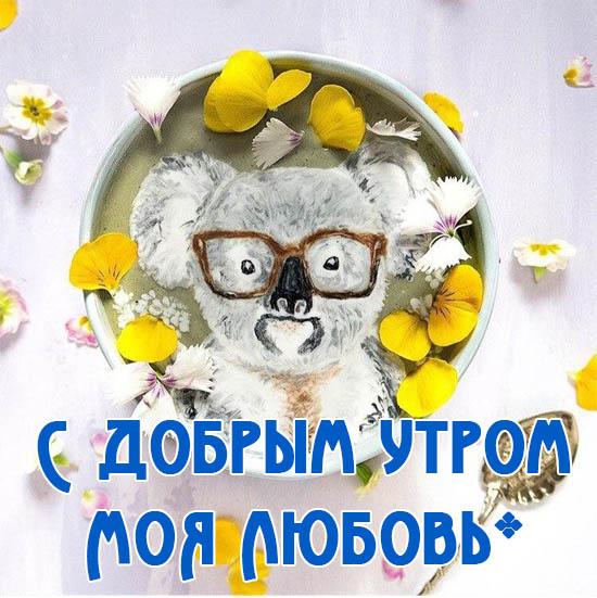 Доброе утро милый - прикольные, красивые и интересные открытки 9