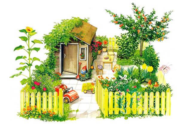Домик картинки для детей - сказочные, красивые и прикольные 11