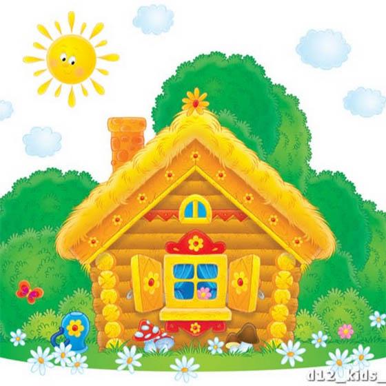 сказочные домики для детей картинки