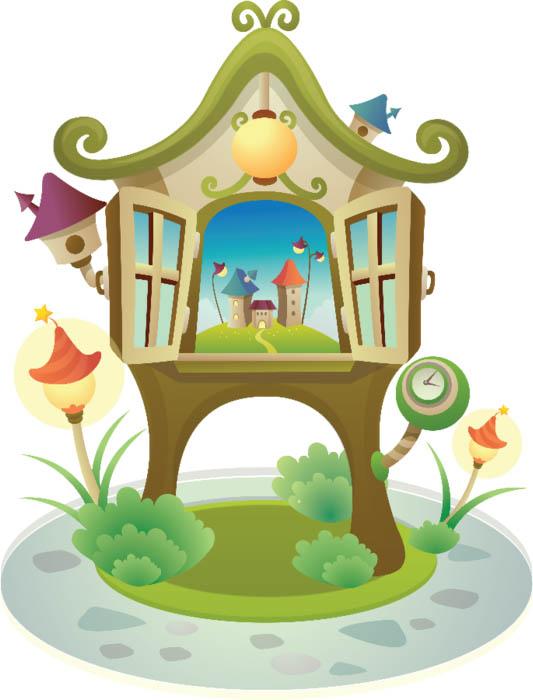 Домик картинки для детей - сказочные, красивые и прикольные 8