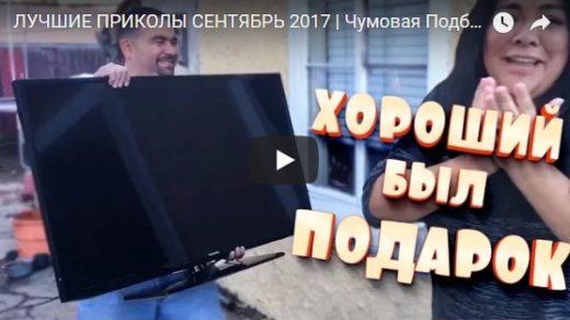 Забавные и смешные приколы в видео - новые, 2017, подборка №11