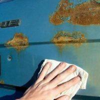 Как удалить ржавчину с металла и инструментов в домашних условиях 4