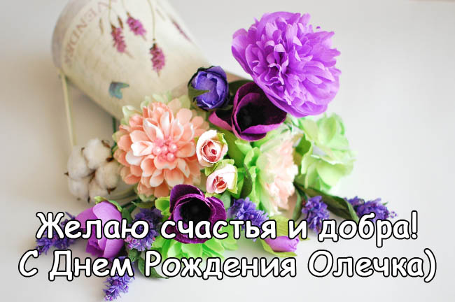Картинки С Днем Рождения с именем Ольга - интересные и прикольные 4