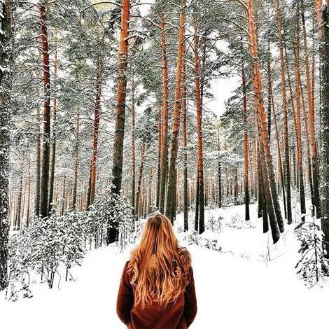 Картинки на аву зима и зимняя пора - прикольные, красивые и классные 5