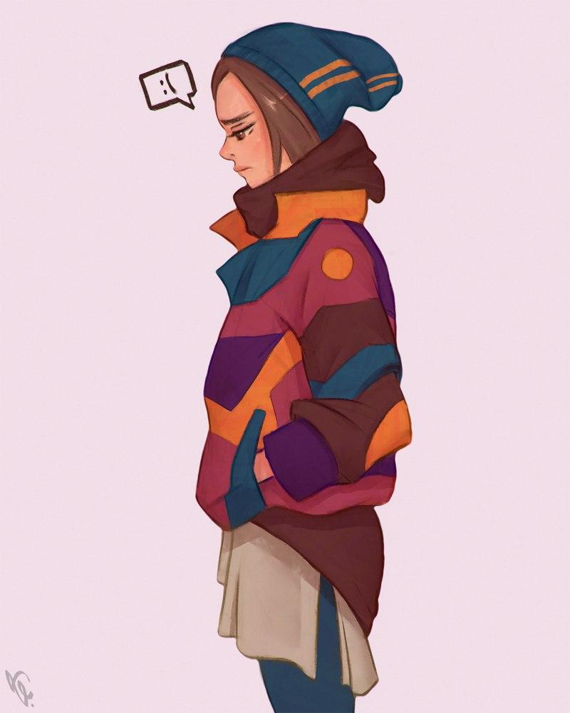 Красивые девушки для срисовки - картинки, рисунки, простые и легкие 8
