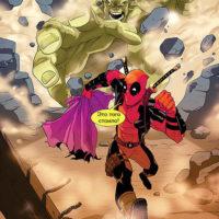 Красивые и прикольные комиксы Марвел - веселая и забавная подборка 5