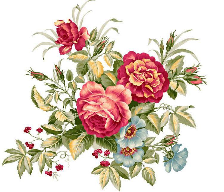 Красивые нарисованные картинки цветов - удивительные и красочные 12