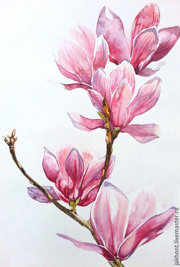 Красивые нарисованные картинки цветов - удивительные и красочные 2