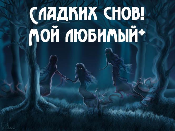 Красивые пожелания спокойной ночи любимому - приятные и нежные 2