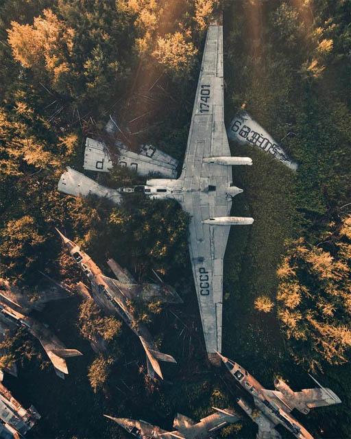 Лучшие фотографии с дронов за последнее время - красивые и удивительные 2