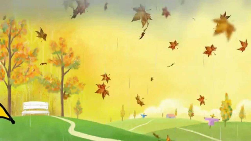 Осень картинки для детей и малышей - прикольные и красивые 5