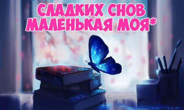 Пожелания спокойной ночи любимой девушке - красивые и прикольные 8