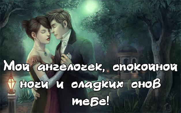 Пожелания спокойной ночи любимой девушке - своими словами, красивые 7