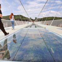 Стеклянный мост в Китае - удивительные и невероятные фото, видео 5