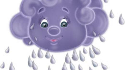 Тучка картинки для детей - прикольные, красивые и интересные 5