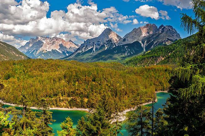 Удивительные и красивые горы - фото, картинки, невероятная подборка 9