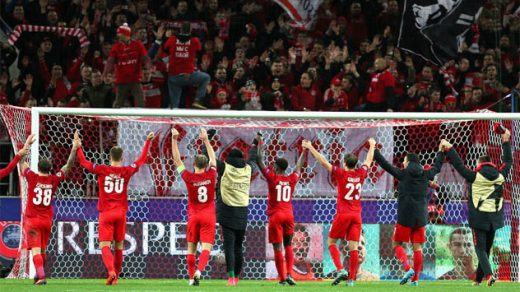 «Спартак» - «Севилья» - 51. Лига чемпионов 17 октября 2017 года 1