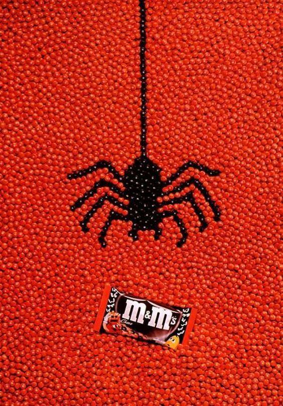 Интересная подборка рекламных творений к Хэллоуину - фото, картинки 5