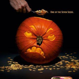 Интересная подборка рекламных творений к Хэллоуину - фото, картинки 6