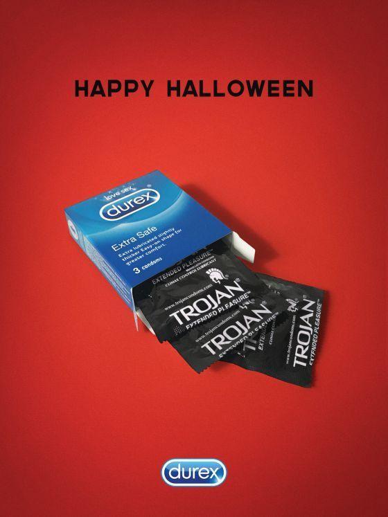Интересная подборка рекламных творений к Хэллоуину - фото, картинки 7