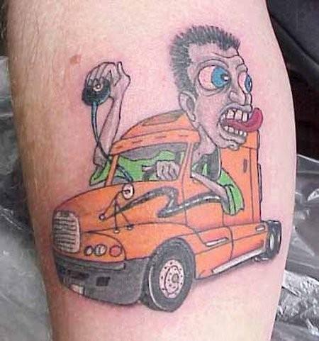 Неудачные татуировки фото и картинки - прикольные, смешные, новые 12