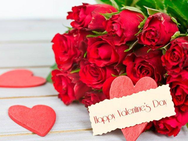 Открытки и картинки С Днем Святого Валентина - красивые и приятные 1