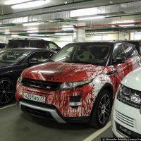Прикольная аэрография на автомобилях - красивые фото и картинки 7