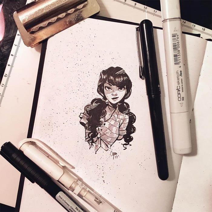 Скачать бесплатно нарисованные картинки - красивые и прикольные 8