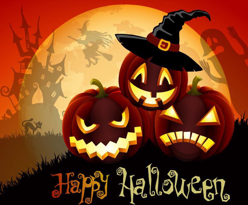 С Днем Хэллоуина открытки и картинки - красивые и прикольные 1