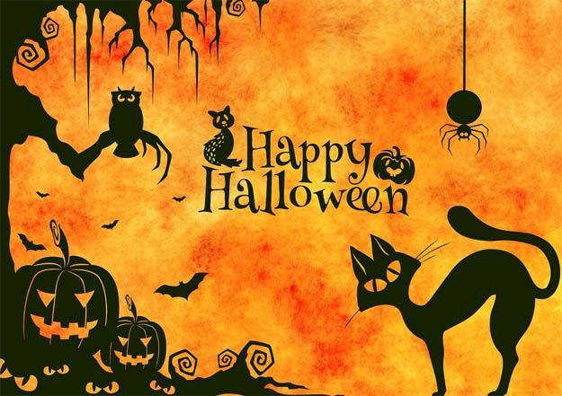 С Днем Хэллоуина открытки и картинки - красивые и прикольные 12