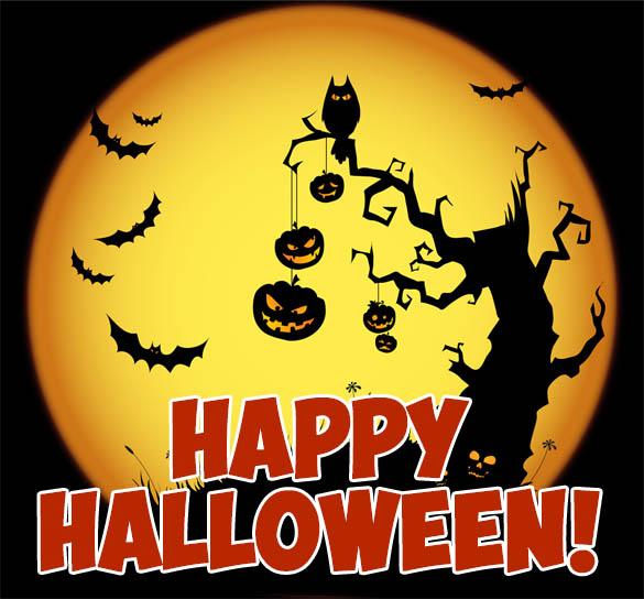 С Днем Хэллоуина открытки и картинки - красивые и прикольные 3