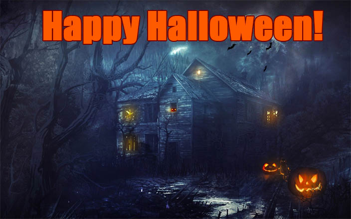 С Днем Хэллоуина открытки и картинки - красивые и прикольные 4