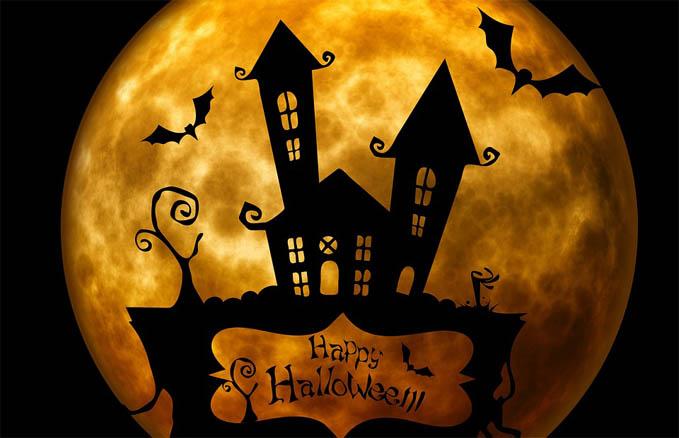 С Днем Хэллоуина открытки и картинки - красивые и прикольные 7